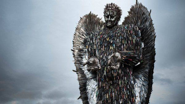 Knife Angel coming to Newtown