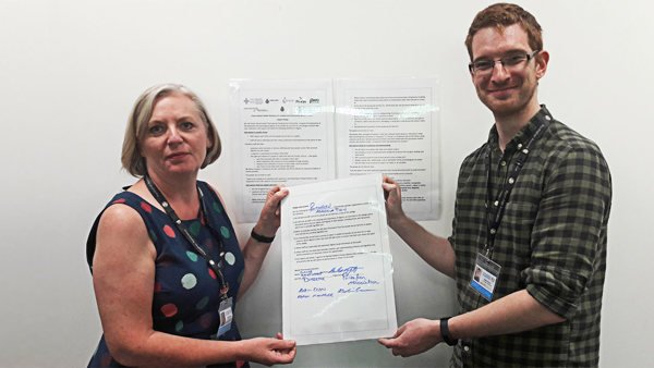 Ponthafren signs up to Dignity Pledge