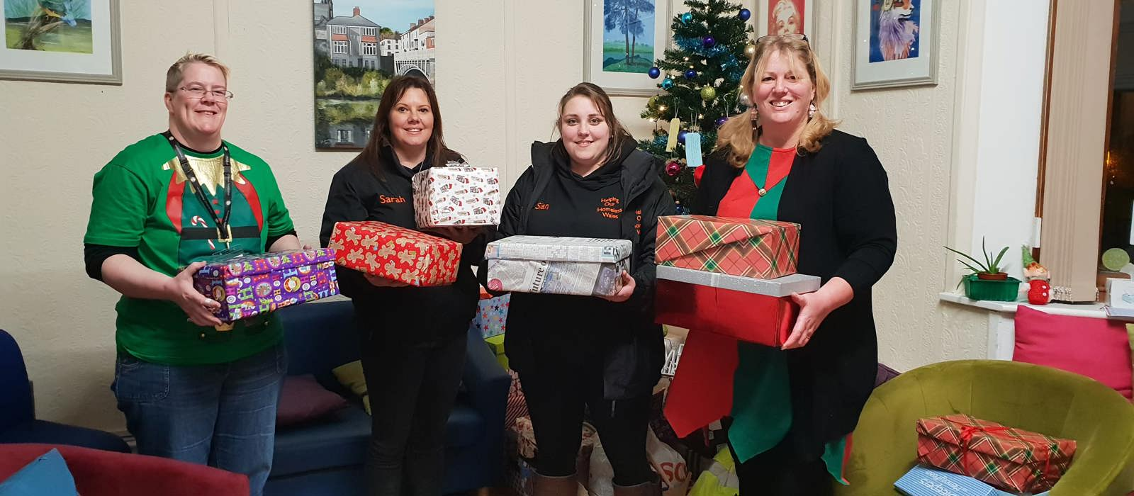 Amazing response to Shoe Box Appeal