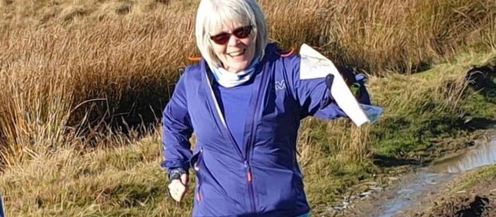 Sue Carroll our 2021 Virgin Money London Marathon runner